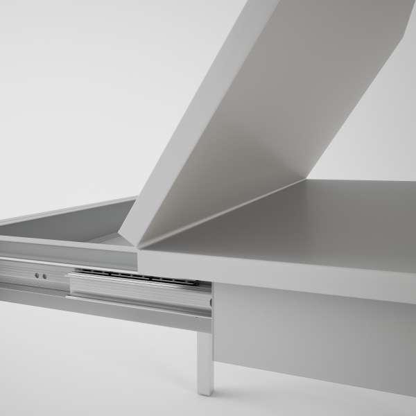 Table petit espace extensible en verre - Domino 6 - 9