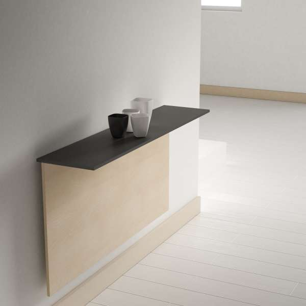 Table pliante murale contemporaine - Click 2 - 2