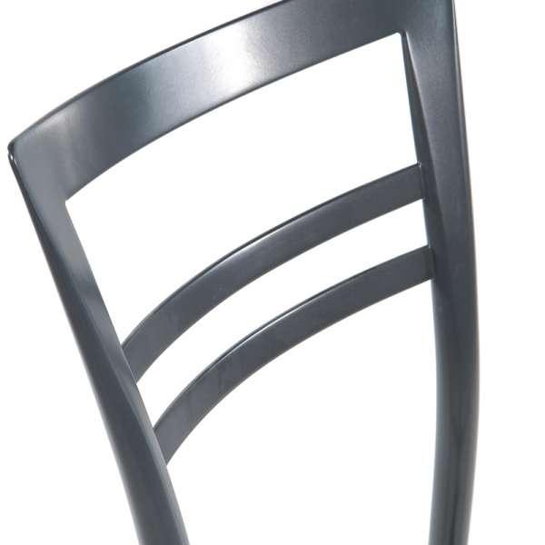 Tabouret snack contemporain en polypropylène et métal - Go 1513 5 - 23