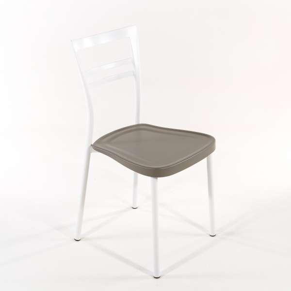 Chaise de cuisine en polypropylène et métal - Go 1419 8 - 8