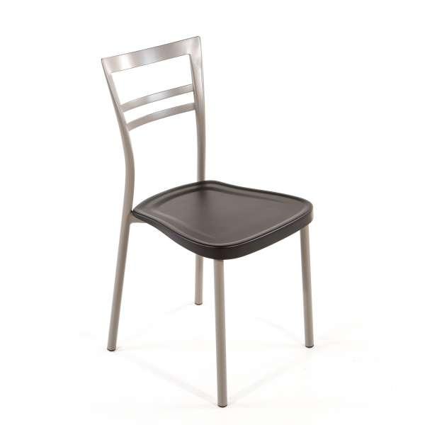 Chaise de cuisine en polypropylène et métal - Go 1419 10 - 10