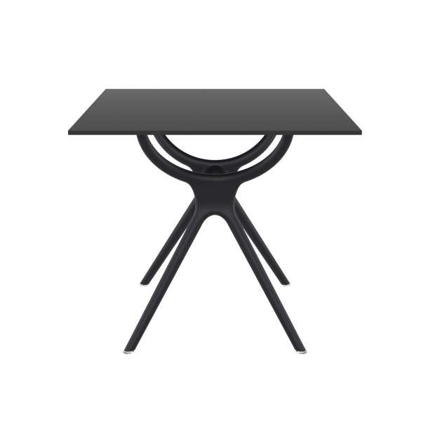 Table carrée petit espace en stratifié et polypropylène - Air 3 - 2