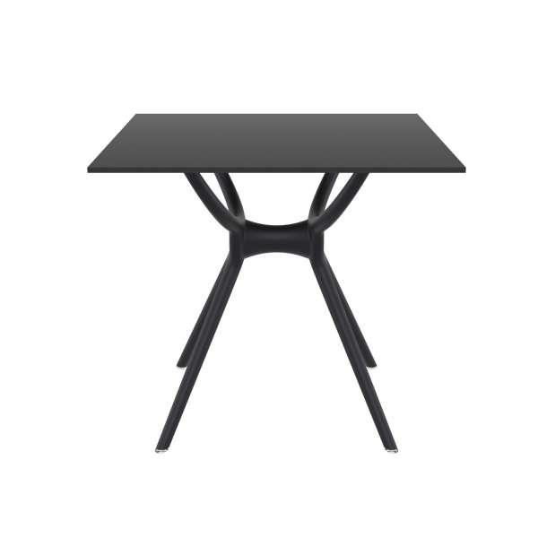 Table carrée petit espace en stratifié et polypropylène - Air 4 - 3