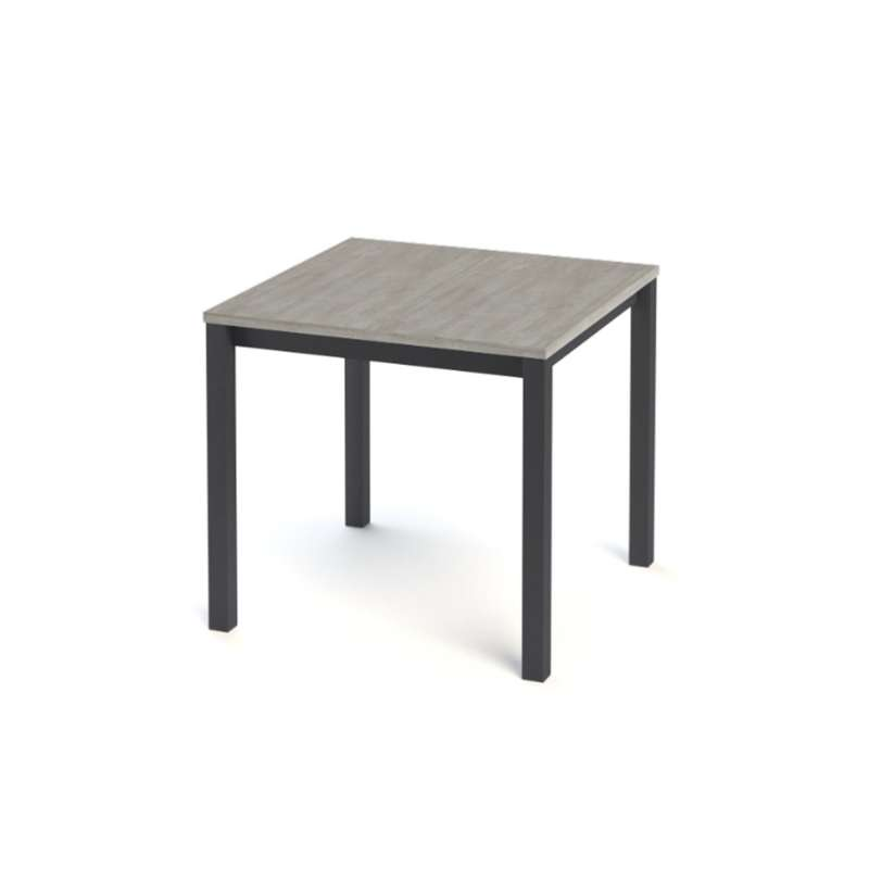 table de cuisine carr e en stratifi vienna 4 pieds tables chaises et tabourets. Black Bedroom Furniture Sets. Home Design Ideas