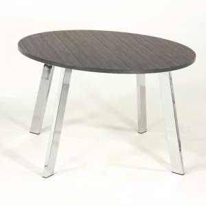 Table de cuisine ovale en stratifié - Elias