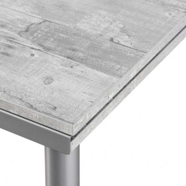 Table de cuisine en stratifié avec rallonges - Basic 3 - 3