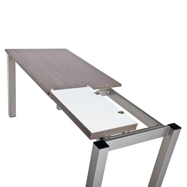 Table de cuisine snack rectangulaire extensible en stratifié - Valencia 4 - 4