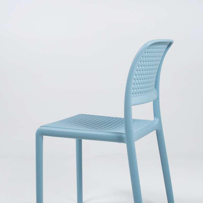 chaise de jardin en polypropyl ne bora bistrot 4 pieds tables chaises et tabourets. Black Bedroom Furniture Sets. Home Design Ideas