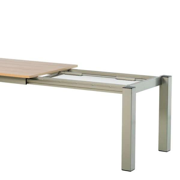 Table snack rectangulaire en stratifié - Vario 6 - 6