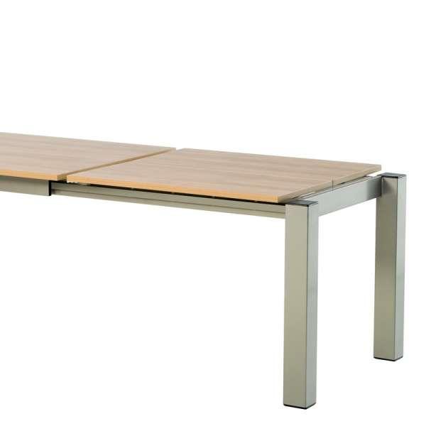 Table snack rectangulaire en stratifié - Vario 8 - 8