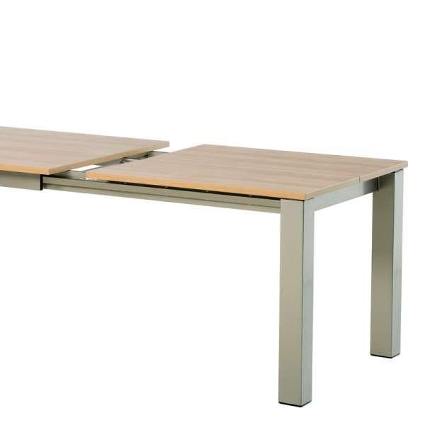 Table snack rectangulaire en stratifié - Vario 9 - 9