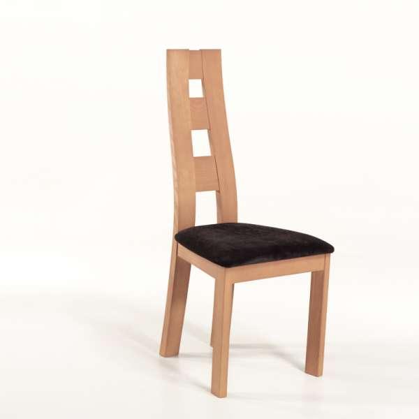 Chaise de s jour de fabrication fran aise tissu et bois - Chaise de sejour ...