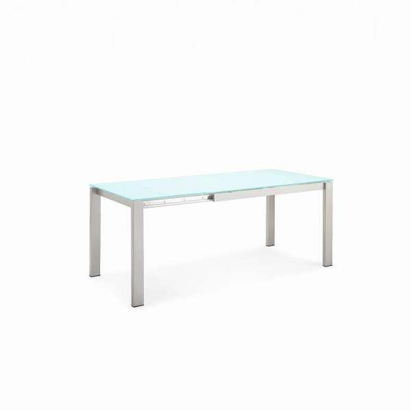 Table snack extensible en verre et métal - Baron Connubia® 2 - 2