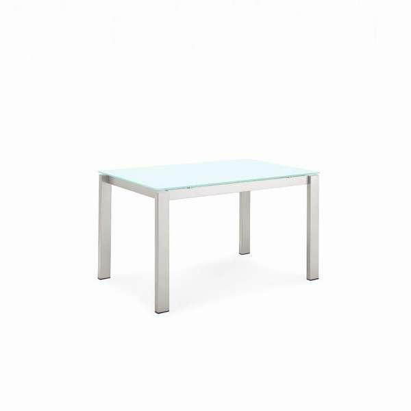 Table snack extensible en verre et métal - Baron Connubia®
