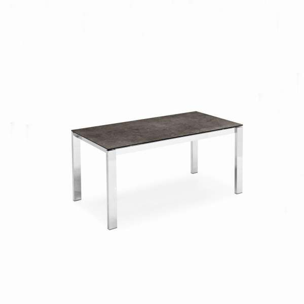 Table extensible en céramique et métal - Baron Connubia®