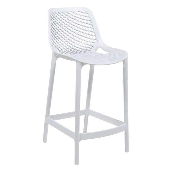 tabouret moderne en polypropyl ne air 4 pieds tables. Black Bedroom Furniture Sets. Home Design Ideas