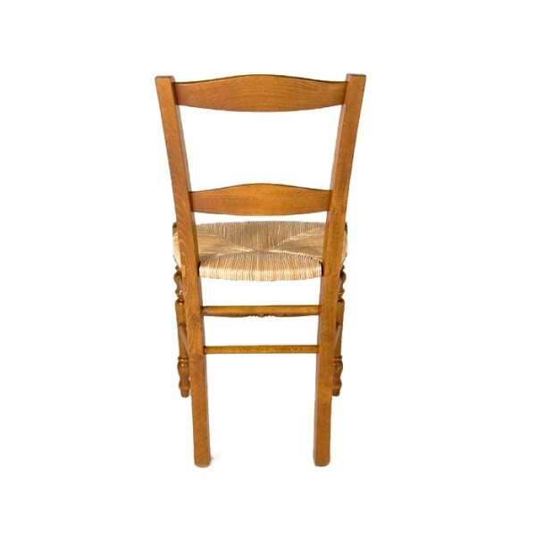 4 pieds vente en ligne - Chaise en bois rustique ...