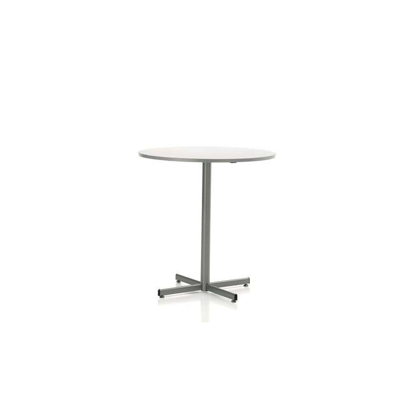 Table de cuisine ronde en stratifi hauteur 90 cm ou 110 for Table de cuisine ronde