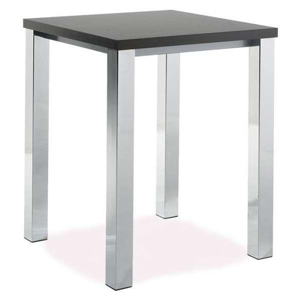 table de cuisine en stratifi mange debout hauteur 110 cm quadra 4 pieds tables chaises. Black Bedroom Furniture Sets. Home Design Ideas