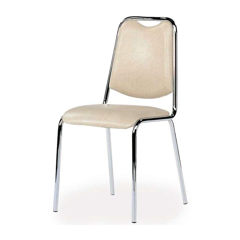 Chaise de cuisine sunny en m tal 4 pieds tables for Chaises de cuisine but