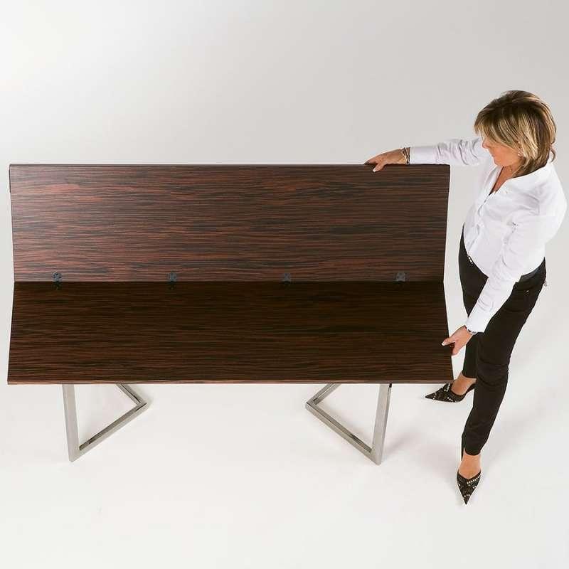 table console modulable en bois et m tal giravolta r f 130 4 pieds tables chaises et. Black Bedroom Furniture Sets. Home Design Ideas