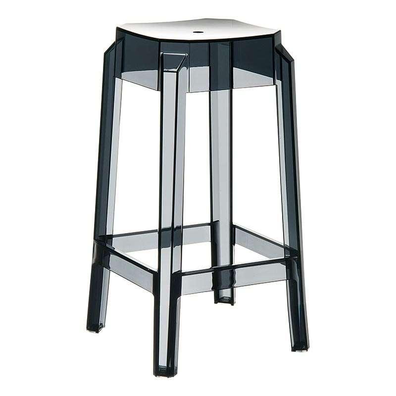 tabouret moderne en plexi hauteur 65 cm fox 4 pieds. Black Bedroom Furniture Sets. Home Design Ideas