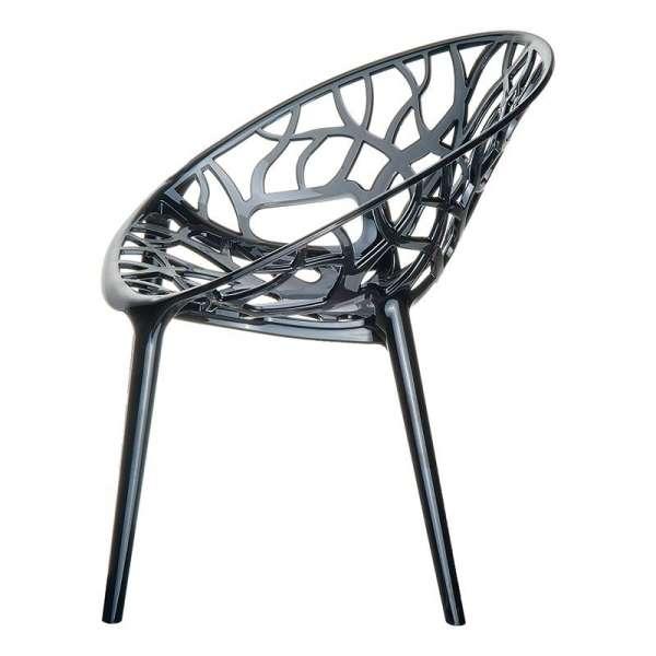 Chaise design en polycarbonate - Crystal 6 - 7