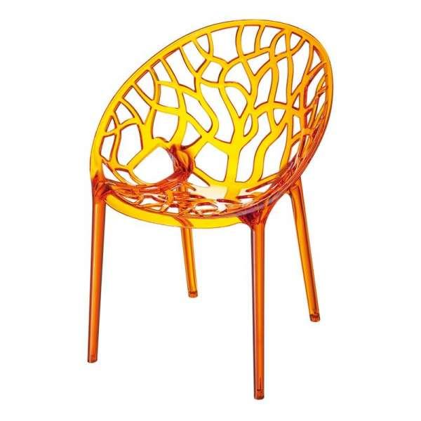 Chaise design en polycarbonate - Crystal 7 - 8