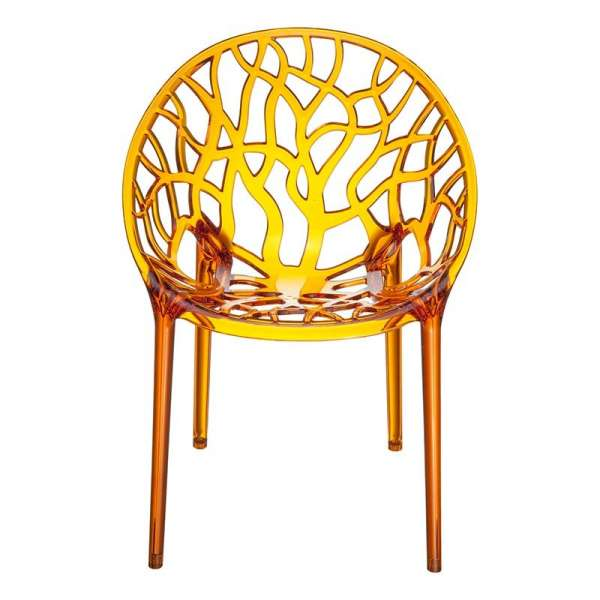 Chaise design en polycarbonate - Crystal 8 - 9