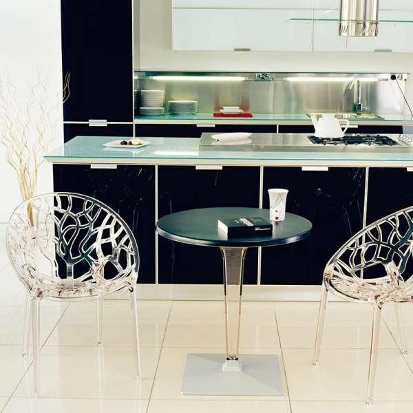 Chaise design en polycarbonate - Crystal 3 - 4