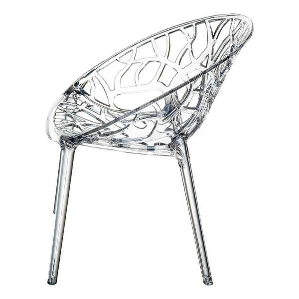 Chaise design en polycarbonate - Crystal 11 - 12