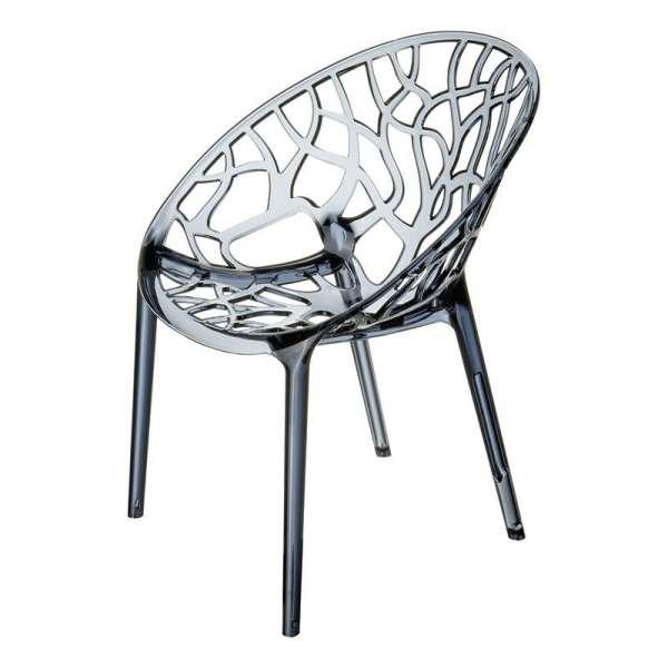 Chaise design en polycarbonate - Crystal 13 - 14