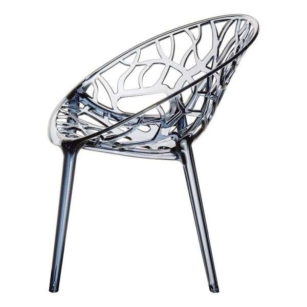 Chaise design en polycarbonate - Crystal 14 - 15