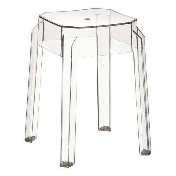 tabouret bas design en plexi fox 4 pieds tables. Black Bedroom Furniture Sets. Home Design Ideas