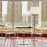 Chaise moderne en plexi transparent Elizabeth 2 - 1