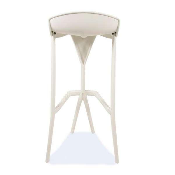 Tabouret blanc en plastique - Shiver - 20