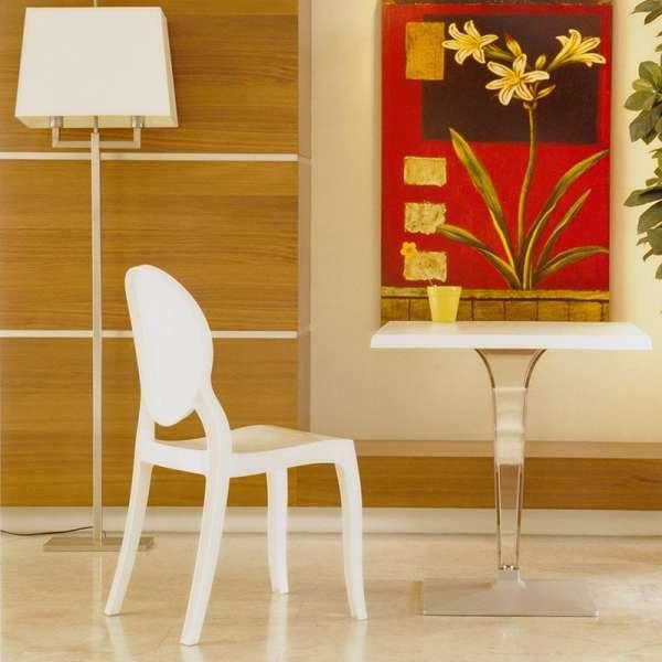Chaise design Elizabeth Opaque en polycarbonate - 9