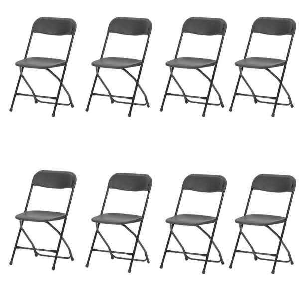 Chaises pliante de collectivité Alex - 4