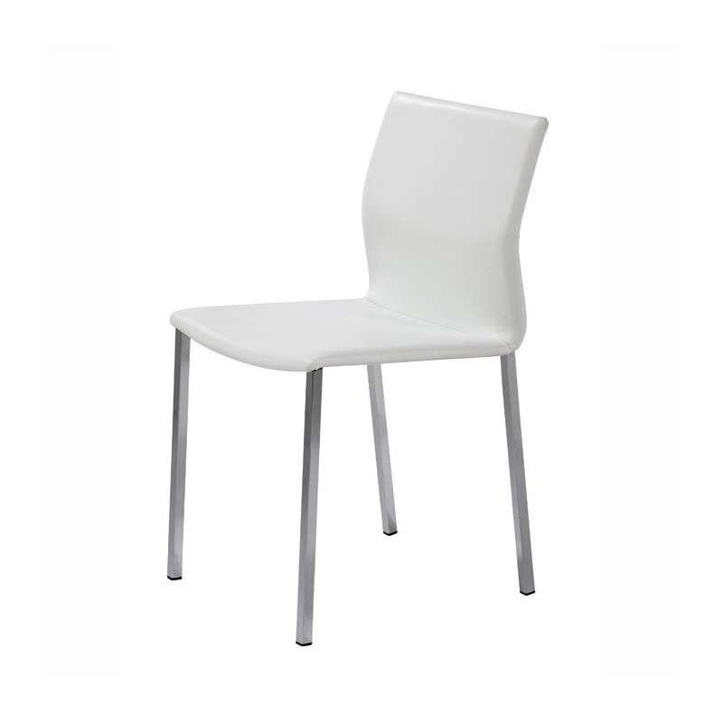 Chaise blanche de cuisine cheap chaise design de cuisine - Chaise de cuisine blanche ...