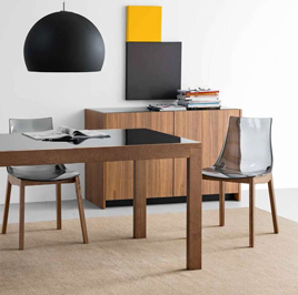 chaise de cuisine moderne en m tal easy 4 pieds tables chaises et tabourets. Black Bedroom Furniture Sets. Home Design Ideas