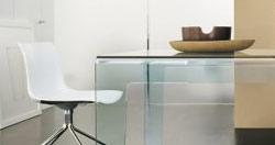 Table en verre
