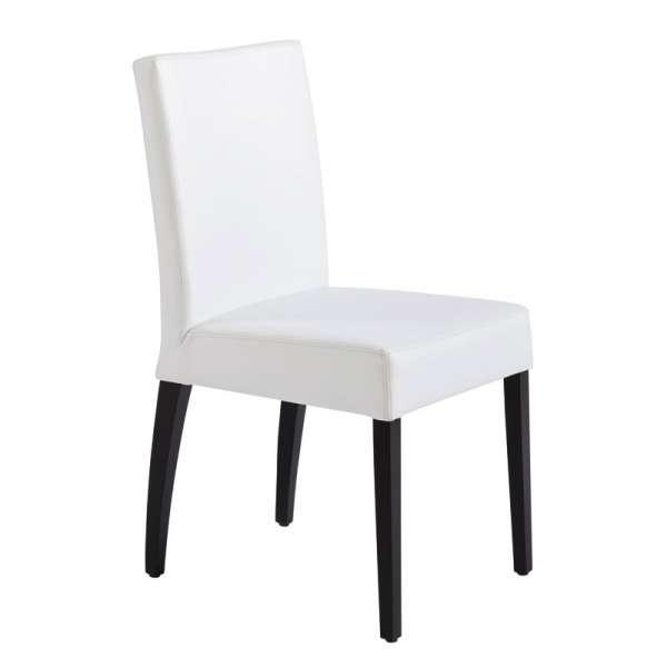 Chaise contemporaine en synthétique et bois – Matias - 6