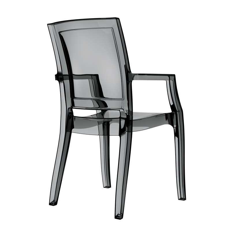 fauteuil moderne en polycarbonate arthur 4. Black Bedroom Furniture Sets. Home Design Ideas