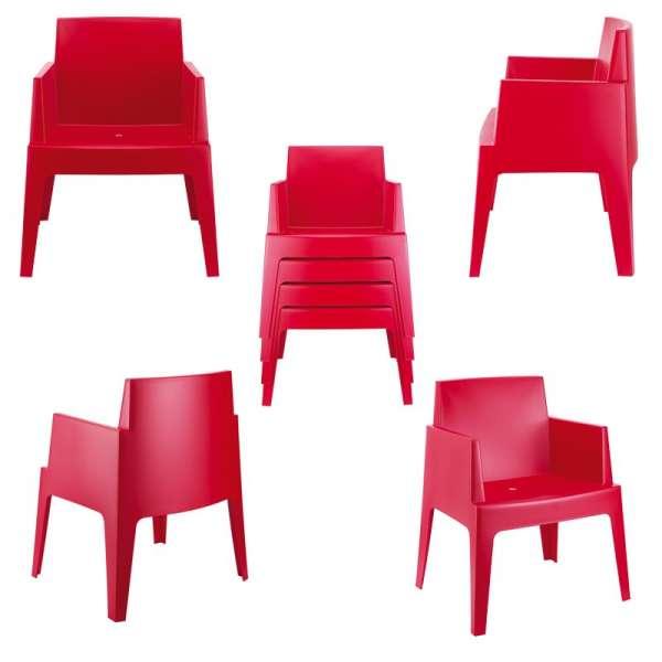 fauteuil de terrasse moderne en polypropyl ne box 4. Black Bedroom Furniture Sets. Home Design Ideas