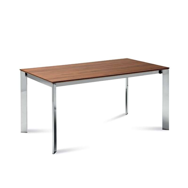 Table design rectangulaire extensible universe160 domitalia 4 pieds tabl - Table rectangulaire design ...