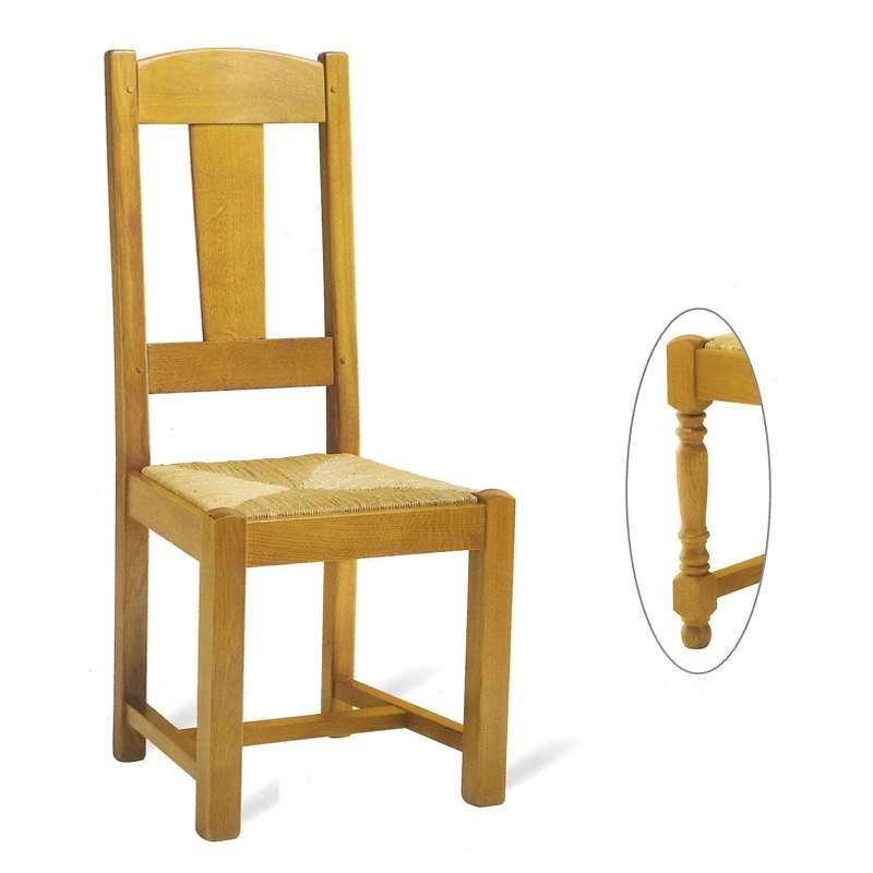 chaise de salle manger en bois rustique 740 742 4