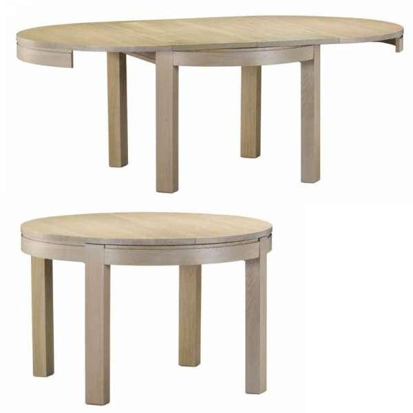 Table contemporaine en chêne Tapana - 4