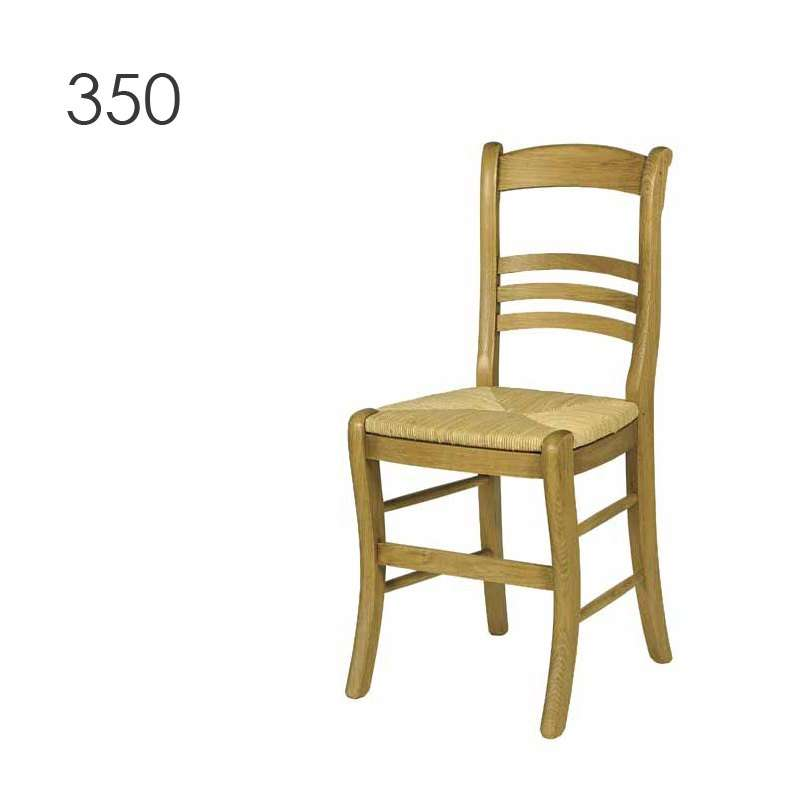 Chaise de cuisine rustique en ch ne massif 360 350 4 for Chaise en chene massif