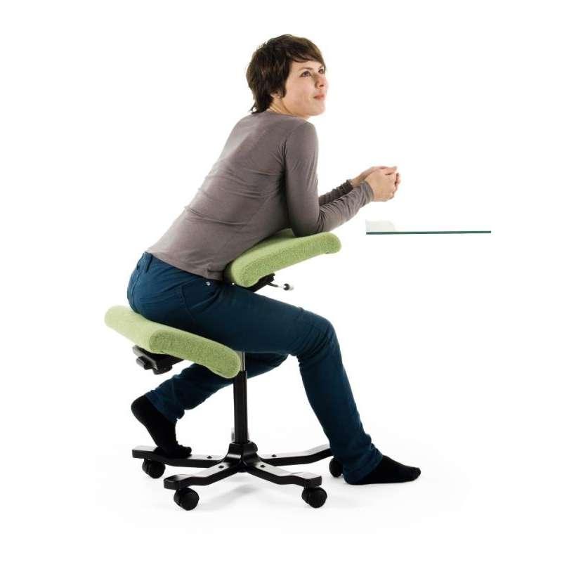 Balans kneeling chair - Lorsque Vous Vous Asseyez Sur Le Wing Balans Vous Prenez Une Position