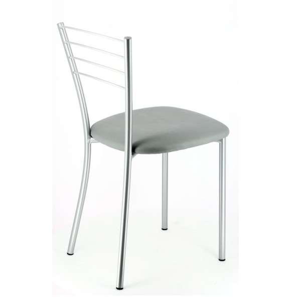 chaise de cuisine contemporaine en m tal roma 4 pieds tables chaises et tabourets. Black Bedroom Furniture Sets. Home Design Ideas